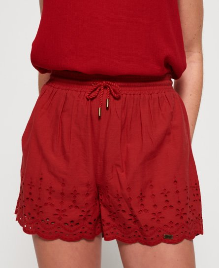 Superdry Short brodé Annabelle