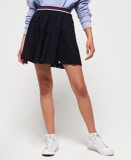 Superdry Teagan Schiffli Skirt