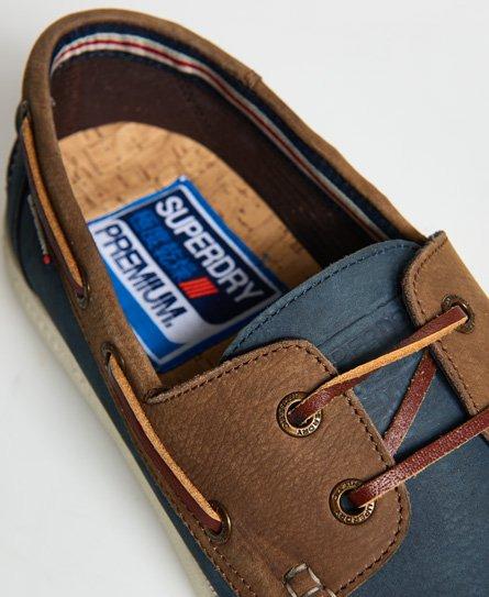 eb7f13753 Superdry Zapatos náuticos de cuero - Zapatos para Hombre