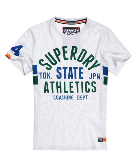 Superdry T-shirt tricolore léger Track & Field