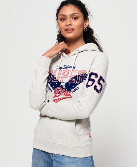 Superdry Eagle Star Flock -huppari