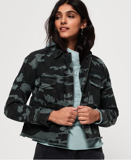 Superdry Riley Cropped Rookie Jacket