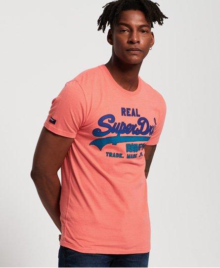 Superdry Camiseta de gramaje medio con logo Vintage descolorido