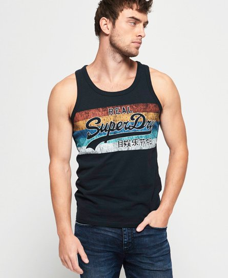 Superdry Vintage Logo Cali Fade Mid Weight Vest Top