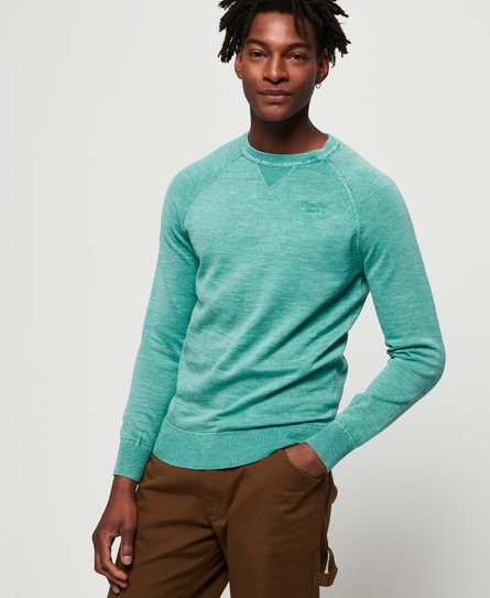 Superdry Maglione girocollo Garment Dyed L.A