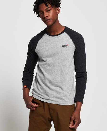 Superdry Baseball Long Sleeve T-Shirt
