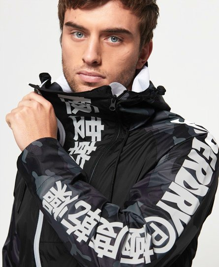 Superdry Japan Edition-regnjakke
