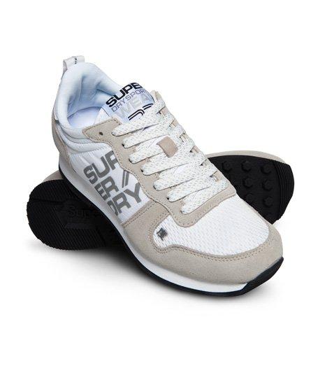 Superdry Street Sport Runner Sneaker in Neonfarben