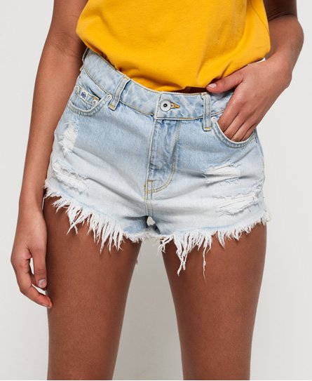 Cut Off Denim Σορτς Eliza