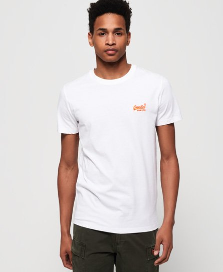 Superdry T-Shirt in Neonfarben aus der Orange Label Kollektion