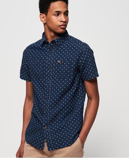Superdry Indigo Riveter Shirt