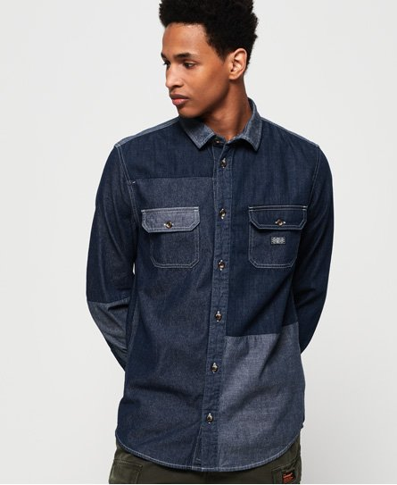 Superdry Worker Long Sleeve Shirt