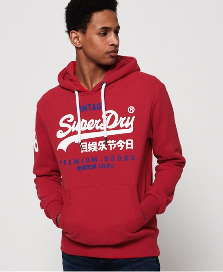 Superdry Sweat à capuche Premium Goods Duo