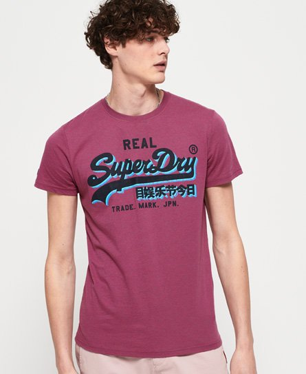 Superdry Vintage Logo Panel Lite T-shirt