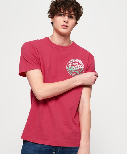 Superdry Camiseta de corte oversize Ticket Type