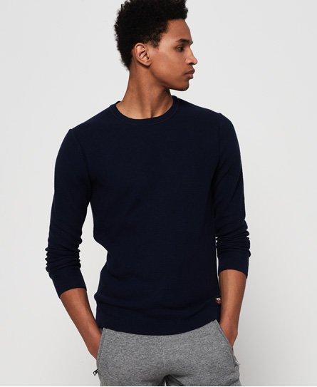 Superdry Jersey de algodón con cuello redondo Supima®
