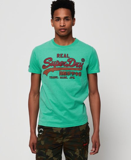 Superdry Vintage Logo Fade Mid Weight T-Shirt