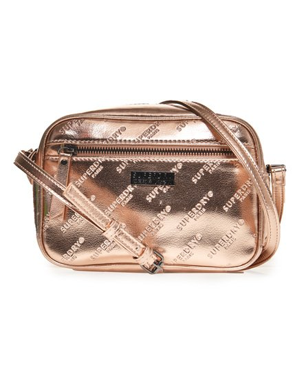 Superdry Delwen-crossbodytas met all-overprint