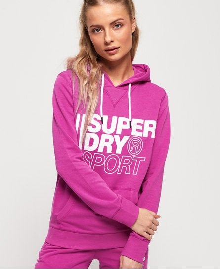 Superdry Sweat à capuche à enfiler Core Sport