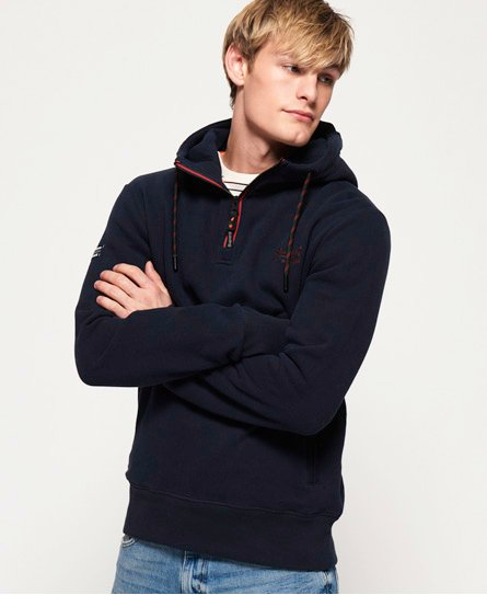 Superdry Orange Label Urban Half Zip Hoodie