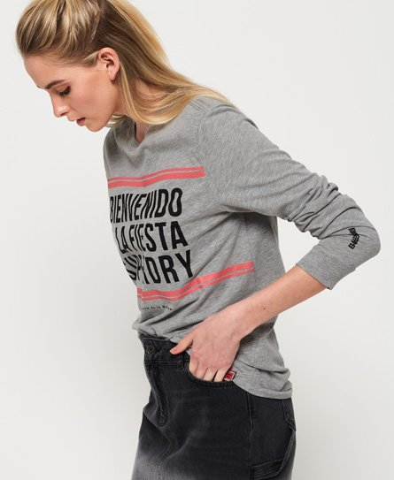 Superdry Cuba Long Sleeve Top