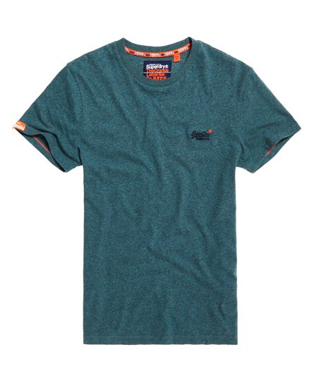 Orange Label Vintage geborduurd T-shirt