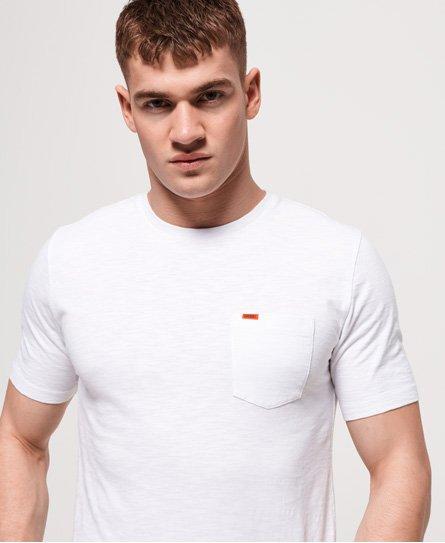 Superdry Dry Originals T-Shirt mit kurzen Ärmeln und Tasche