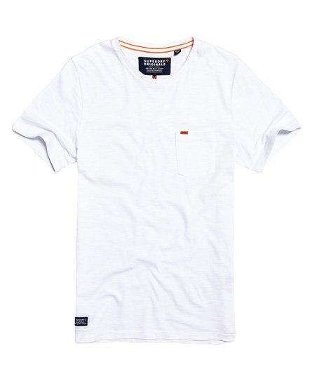 Superdry T-shirt a maniche corte con tasca Dry Originals