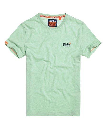 Superdry T-shirt Vintage en coton bio Orange Label