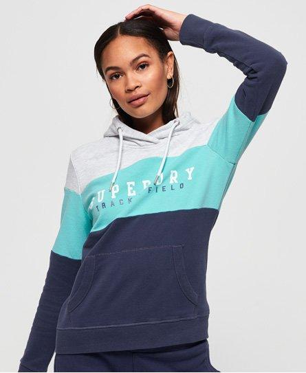 Track & Field Lite Colour Block hoodie