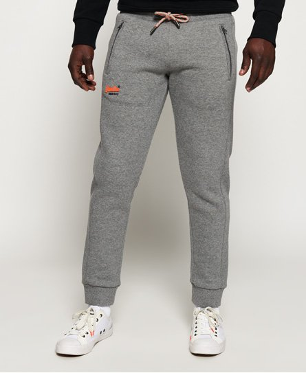 Superdry Pantalon de survêtement Orange Label Cali