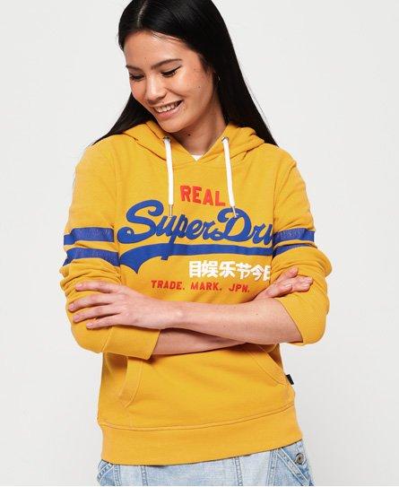 Superdry Sudadera con capucha y logo Vintage Classic Retro