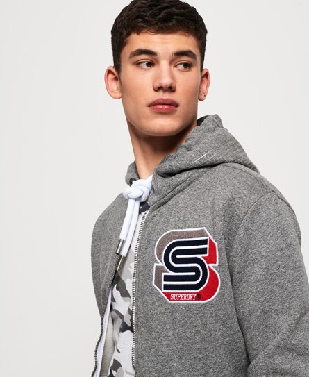 Superdry Sweat à capuche zippé Podium