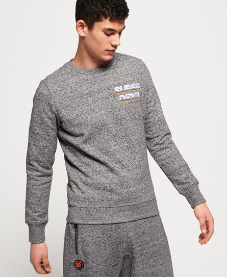 Superdry Cali Applique Logo Crew Sweatshirt