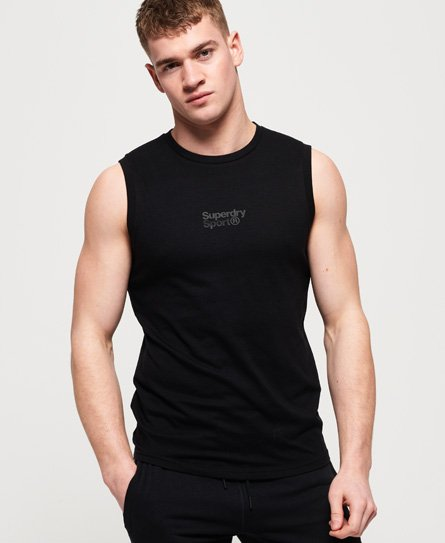 Superdry Core Sport Small Logo Tank Top thumbnail 1
