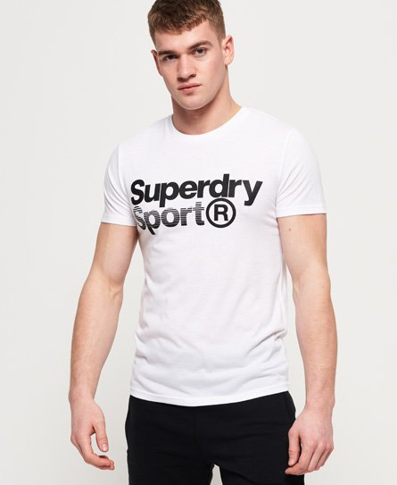 Superdry Core Sport Graphic-T-skjorte