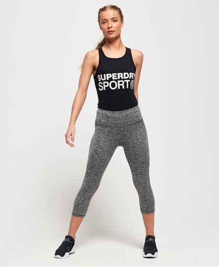 Superdry SD Core Sport Essential Capri-Leggings