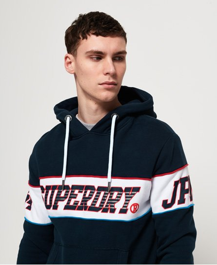 Superdry Sweat à capuche rayé rétro