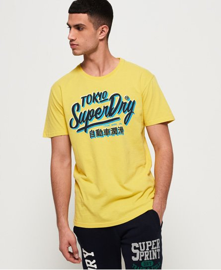 Superdry T-shirt oversized Ticket Type