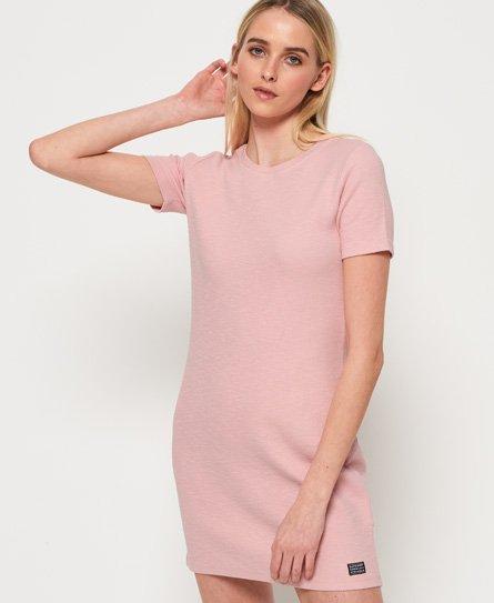 Superdry Textured jurk met ritssluiting op de rug