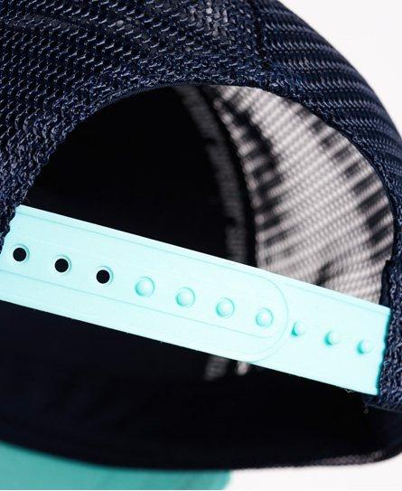 586709c9 Womens - Premium Goods CB Trucker Cap in Soft Mint/white | Superdry