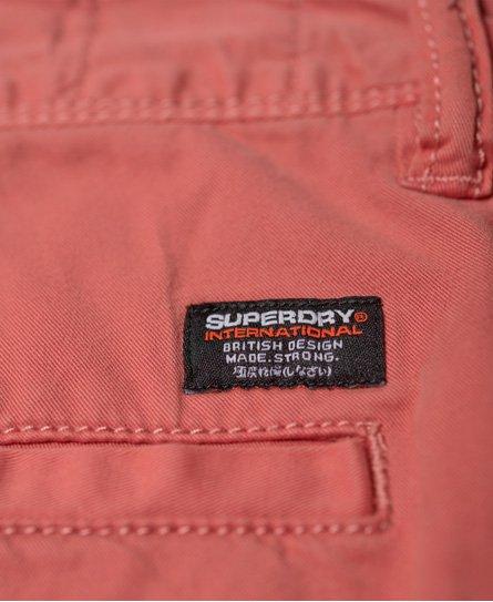 Superdry Short léger chino slim International Shorts