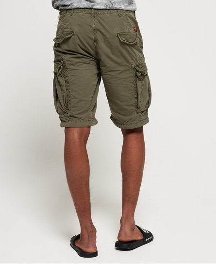 99d13550e4 Mens - Parachute Cargo Shorts in Sage Ripstop | Superdry