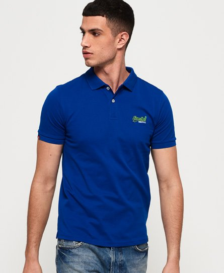 Superdry Polo Mercerised Lite City