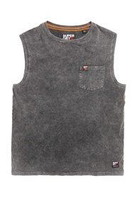 Superdry Mens Surplus Goods Pocket Oversized Vest Top