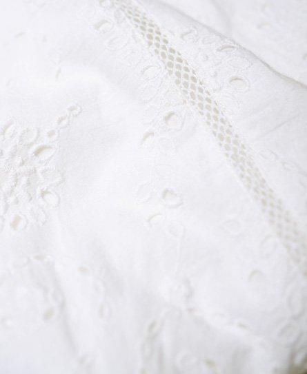 68cd2197c2 Womens - Shelly Schiffli Dress in White