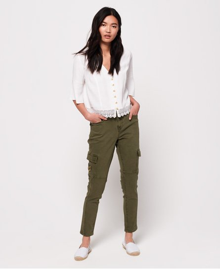 Superdry Daisey Skinny Cargo Trousers