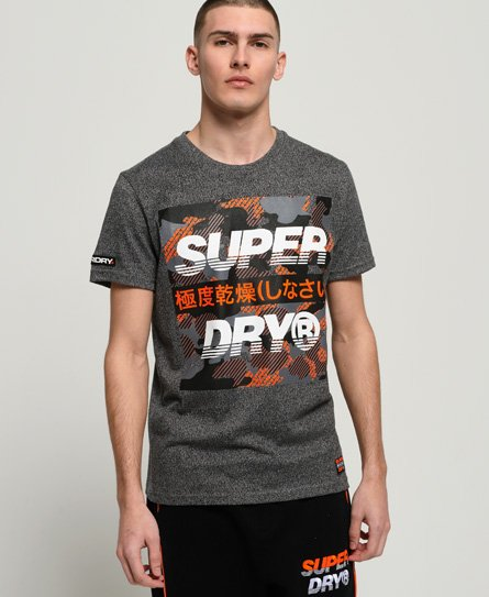 Superdry T-shirt Trophy camouflage