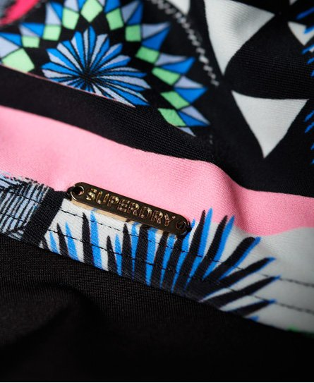 e7b24b1b38 Superdry Ava Cross Back Vee Swimsuit - Women's Swimwear