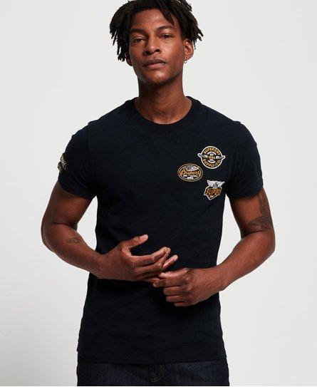 Superdry T-shirt à écussons